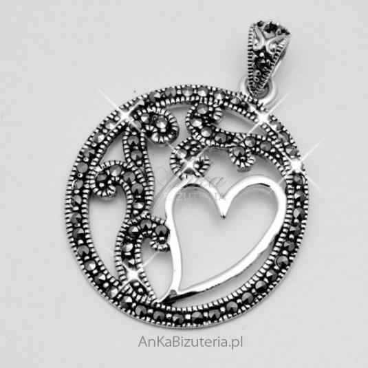 Biżuteria srebrna z markazytami