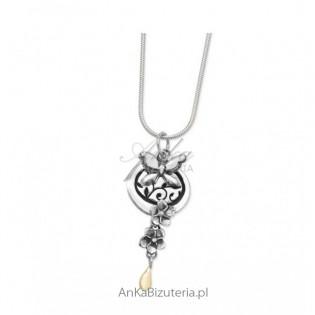Romantyczna biżuteria Lindy Macdonalc Biżuteria artystyczna