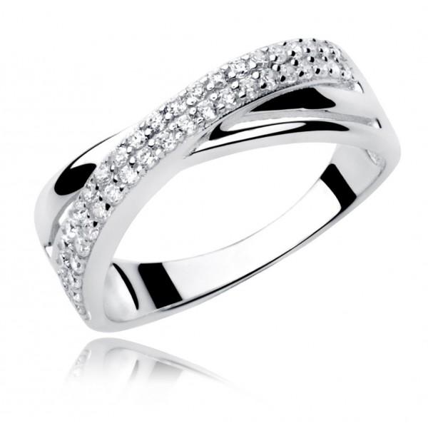 pierścionek do sukni ślubnej ecru