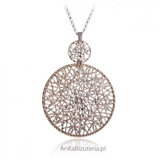 Piękna biżuteria srebna