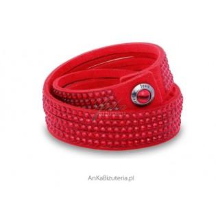 Ekskluzywna biżuteria dla Kobiet: Bransoletka Swarovski czerwona