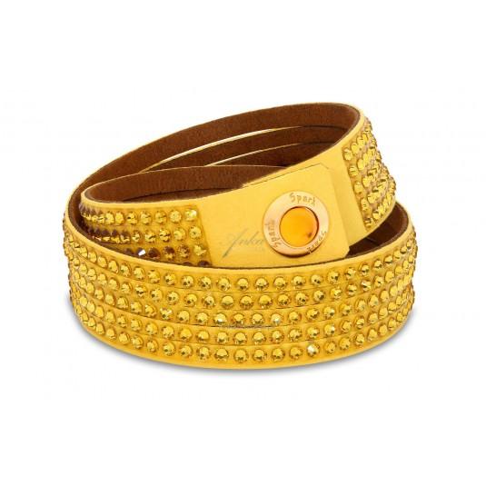 Oryginalna biżuteria: Bransoletka Swarovski żółta
