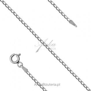 Łańcuszek srebrny rodowany Cheval Rod. Łańcuszek rodowany 45 cm