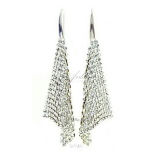 Biżuteria Gwiazd - Kolczyki z kryształkami Swarovski