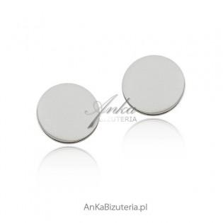 Srebrne kolczyki celebrytek - biżuteria włoska
