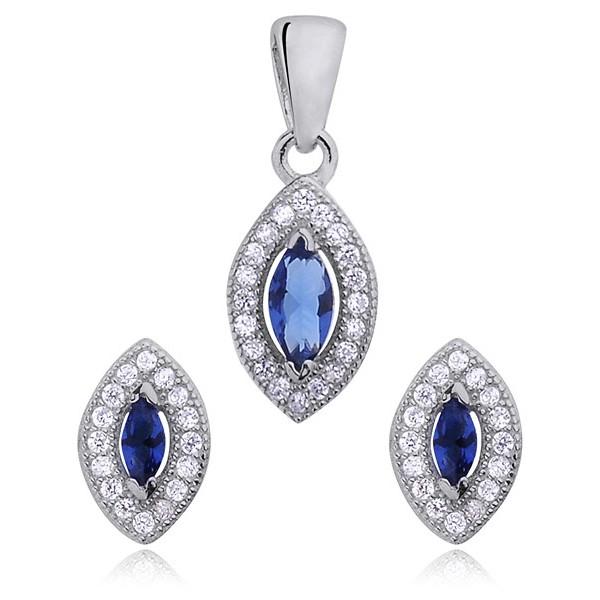 97c10515af Damska biżuteria z cyrkoniami. komplet biżuterii z cyrkoniami