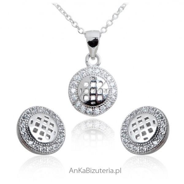 Z okazji dnia dziecka zobacz oryginalny komplet biżuterii srebrnej