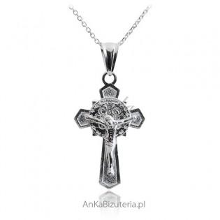 Krzyż Benedykta: Srebrny krzyżyk