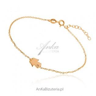 Biżuteria srebrna : Bransoletka srebrna