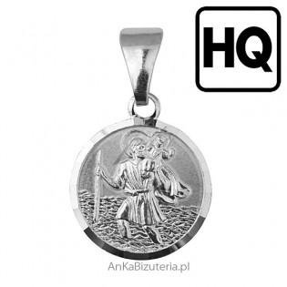Medalik srebrny Św Krzysztof
