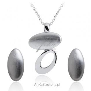 Biżuteria srebrna Komplet biżuterii