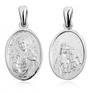 Medalik srebrny Szkaplerz