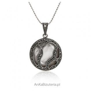 Piękna Zawieszka srebrna