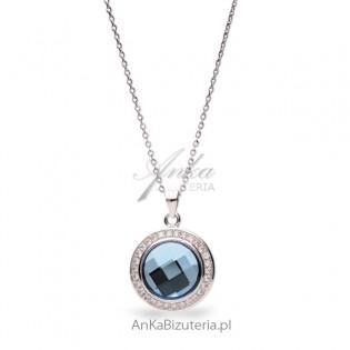 Naszyjnik srebrny Swarovski CHESSBOARD CIRCLE