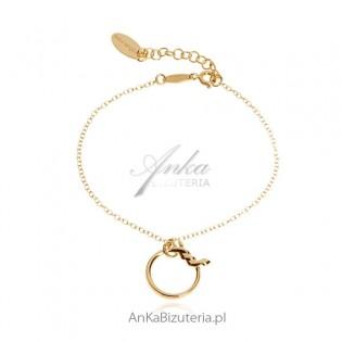 Bransoletka srebrna Modna biżuteria