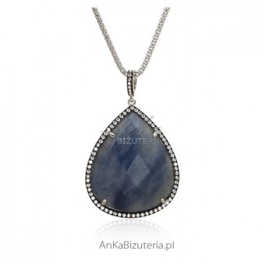 Naszyjnik srebrny Luksusowa biżuteria Hiszpania