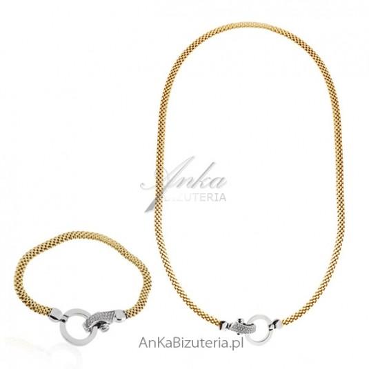 Srebrna biżuteria roowana Elegancka biżuteria włoska