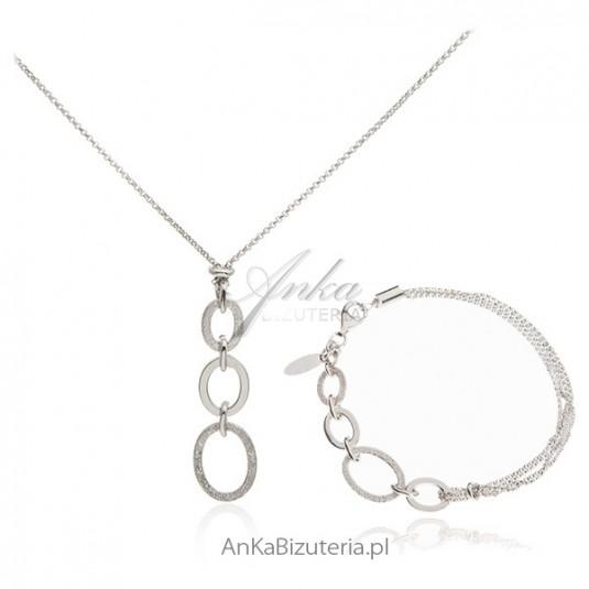 Biżuteria srebrna Komplet