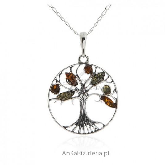 50fd435355a9 Zawieszka srebrna drzewko szczęścia Biżuteria srebrna w sklepie AnKa