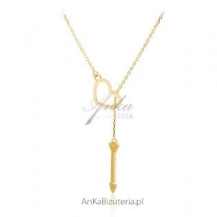 Naszyjnik srebrny celebrytka - Modna biżuteria srebrna