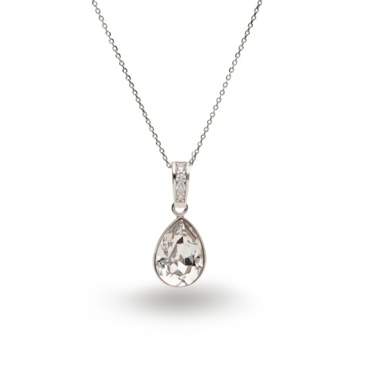Naszyjnik Swarovski - biżuteria srebrna
