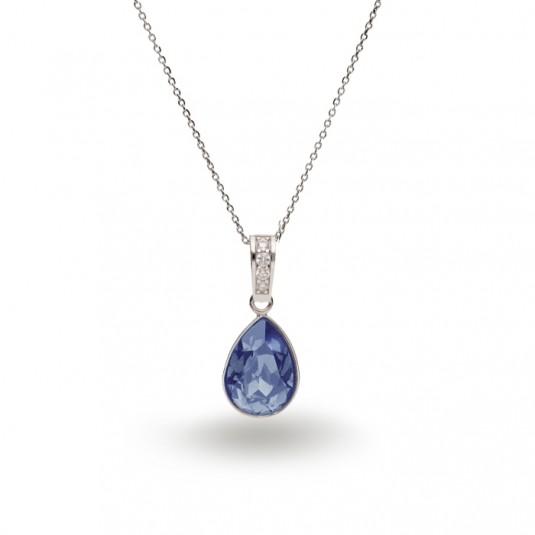 Biżuteria Swarovski - Naszyjnik srebrny Swarovski