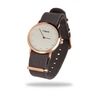 Damski zegarek z kryształami Swarovski -SENCILLO