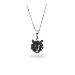 Naszyjnik srebrny Swarovski - LITTLE TIGER