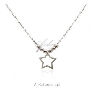 Prezent na Gwiazdkę biżuteria srebrna