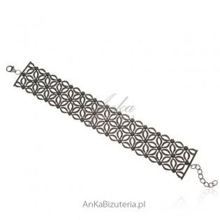 Piękna ekskluzywna bransoletka hiszpańskiej firmy LineArgent