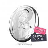 Matka Boska z Dzieciątkiem Pamiątka srebrna