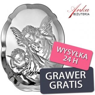 Pamiątka na Chrzest dla dziecka 6*9 GRAWER GRATIS
