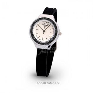 Zegarek damski z kryształami Swarovski
