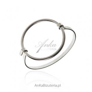 Oryginalna bransoletka srebrna