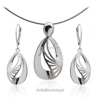 Komplety biżuteria srebrna