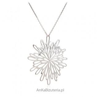 Naszyjnik srebrny Modna biżuteria srebrna