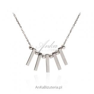 Naszyjnik srebrny - Biżuteria włoska
