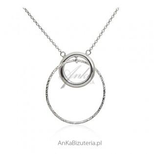 Naszyjnik srebrny Bizuteria włoska