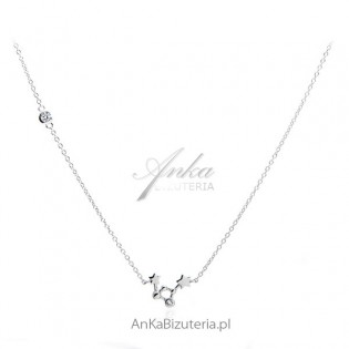 Naszyjnik srebrny konstelacja - Oryginalna biżuteria