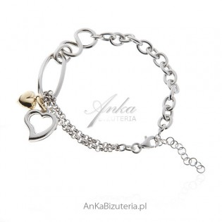 Bransoletka srebrna Biżuteria na prezent