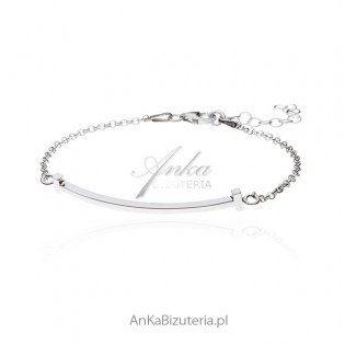 Bransoletka srebrna - Modna biżuteria srebrna