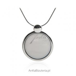 Zawieszka srebrna Murano - Piękna biżuteria na prezent