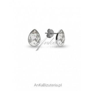 Kolczyki srebrne Swarovski ATESSA - Crystal