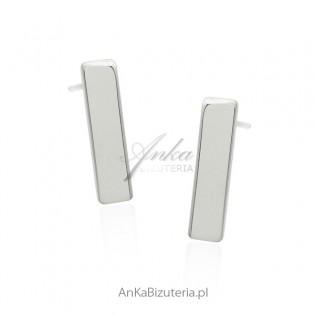 Kolczyki srebrne - ponadczasowa biżuteria damska