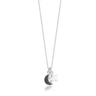 Naszyjnik srebrny z nowej kolekcji ASTRO - DALLACQUA