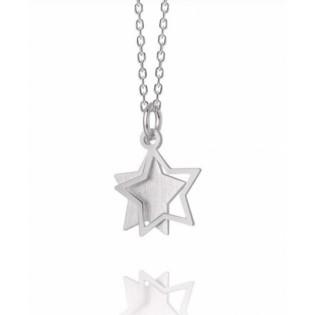 Naszyjnik srebrny z gwiazdką - Biżuteria DallAcqua