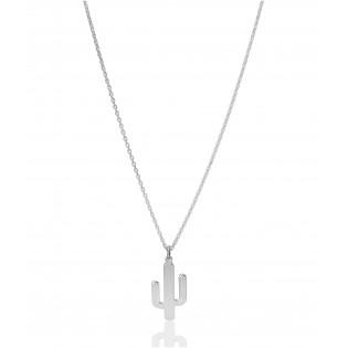 Naszyjnik srebrny KAKTUS - Nowy trend w modzie! Biżuteria Dall Acqua