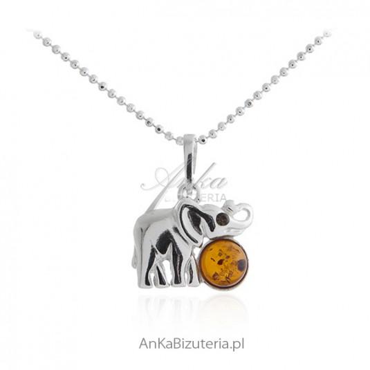 Biżuteria srebrna - SŁONIK NA SZCZĘŚCIE -