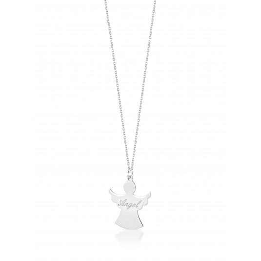 Naszyjnik srebrny - ANGEL - biżuteria włoska