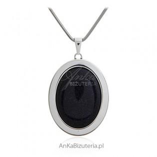 Wisiorek srebrny NOC KAIRU - Elegancka biżuteria srebrna